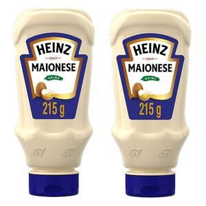 Combo Heinz 2x Maionese Trad. 215g