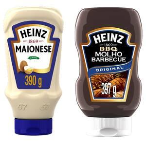 Combo Heinz Maionese + Barbecue