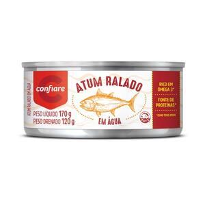 Atum Ralado em Agua 170g