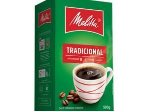 Café em pó melitta tradicional 500g