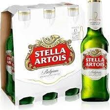 Stella Artois pack c/6