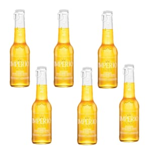Império gold long neck 210ml pack c/6