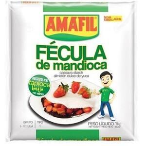 Fécula de Mandioca Amafil 1Kg