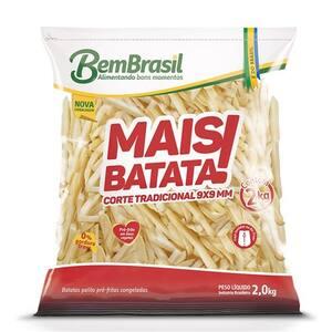 Batata Palito Mais Batata Bem Brasil 2Kg