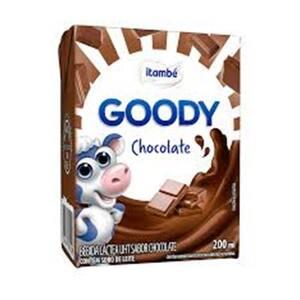 Bebida Láctea Itambé Goody Chocolate Caixa 200ml