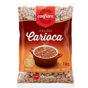 Feijão Carioca Confiare 1kg
