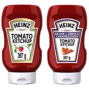 Combo Heinz Ketchup Bacon + Tradicional