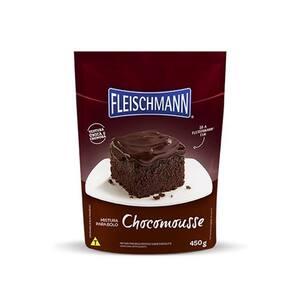 Mistura para Bolo Fleischmann Chocomousse Pacote 450G