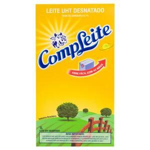 Leite Uht Desnatado Compleite 1l