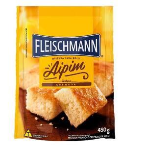 Mistura para Bolo Fleischmann Aipim 450gr