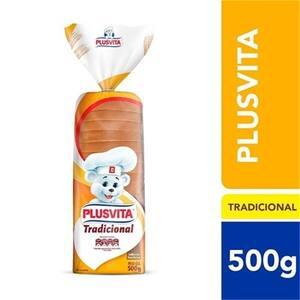 Pão de Forma Tradicional Plusvita 500g