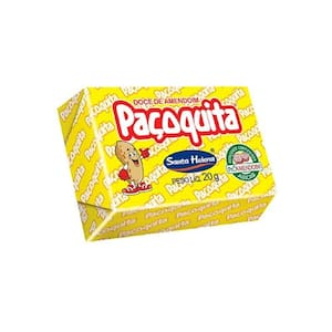 Doce de Amendoim Paçoquita Unidade 20g