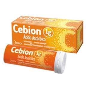Cebion 1g Laranja Eferv 10 Cprs