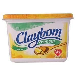 Margarina Claybom Cremosa sem Sal Pote 500g