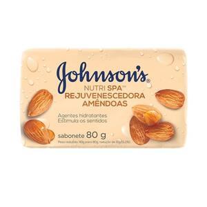 Sabonete Johnsons Amêndoas 80g