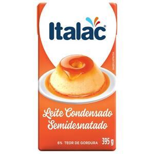 Leite Condensado Italac Semidesnatado 395g