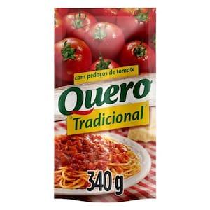 Molho de Tomate Quero Tradicional 340g.