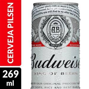 Cerveja Budweiser 269ml