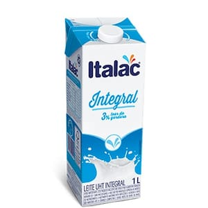 Leite Uht Italac Integral 1l