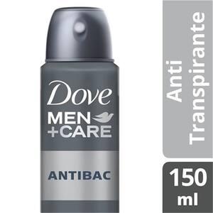 Desodorante Antitranspirante Aerosol Dove Men +Care Antibac 150ml