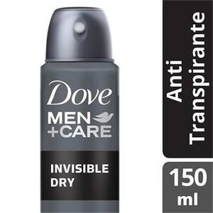 Desodorante Antitranspirante Aerosol Dove Invisible 150ml