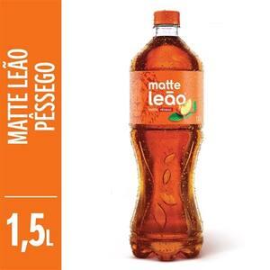 Chá Pronto Matte Leão Pêssego Pet 1,5 Litro