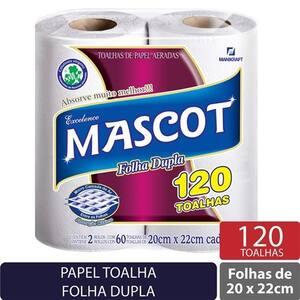 Papel Toalha Mascot 120 Toalhas
