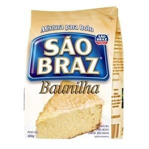 Mistura para Bolo São Braz Baunilha 400G