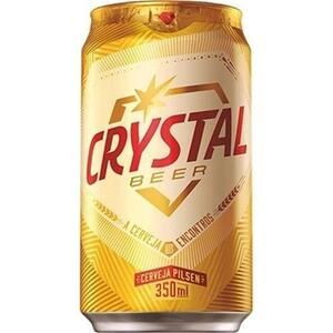Cerveja Crystal Beer Lata 350ml