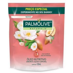 Sabonete Líquido Palmolive Naturals Camélia Refil 120ml