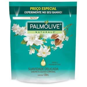 Sabonete Líquido Palmolive Naturals Jasmim Refil 120ml