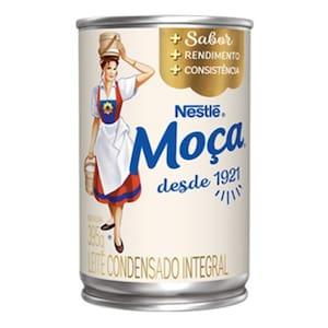Leite Condensado Integral Nestlé Moça Lata 395g