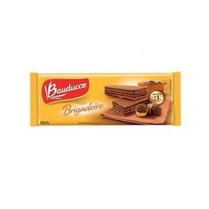 Biscoito Wafer Bauducco Brigadeiro Embalagem 78g