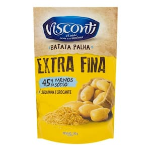 Batata Palha Visconti Extra Fina Pacote 120g