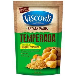 Batata Palha Visconti Salsa e Cebola Pacote 140g