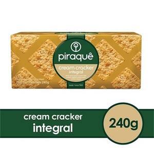 Biscoito Salgado Integral Piraquê Cream Cracker 240g