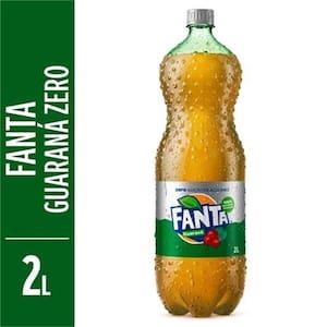 Refrigerante Fanta Guaraná Zero Pet 2l