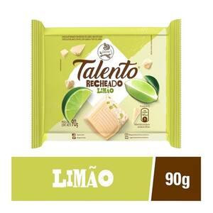 Chocolate Garoto Tablete Talento Recheado Torta de Limão 90g