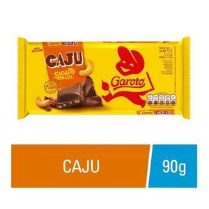Chocolate Garoto Castanha de Caju 90g
