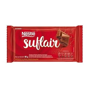 Chocolate Nestle Suflair Ao Leite 80g
