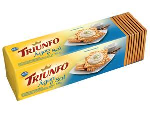 Bisc Triunfo Agua/Sal 200gr