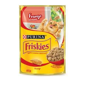 Alimento para Gatos Friskies Frango Ao Molho 85g