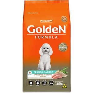 Ração Premier Golden Fórmula Cães Adultos Raças Pequenas Frango e Arroz 15kg