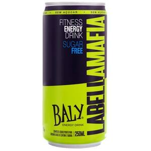 Energético Baly Labellamafia Embalagem 250ml