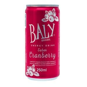 Energético Baly Cranberry 250ml