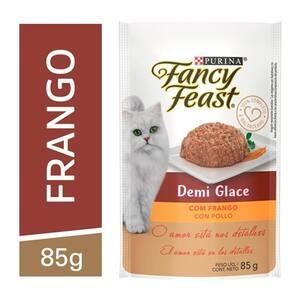 Alimento para Gatos Adultos Demi Glace com Frango Purina Fancy Feast 85g