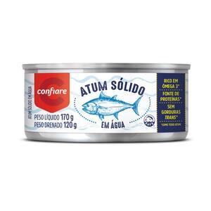 Atum Inteiro Agua 170g