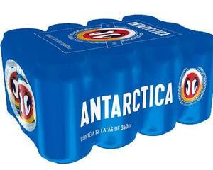 Antarctica  lata 350 ml pack com 12 unid