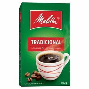 Café Melitta Tradicional Vácuo 500g