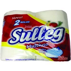 Papel Toalha Sulleg Pacote 2 Un